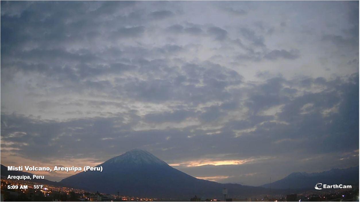 webcam Arequipa - Volcan Misti