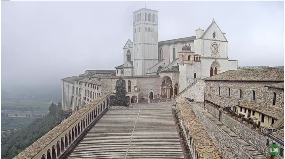webcam Assise - basilica