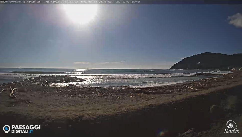 webcam Fiumaretta di Ameglia