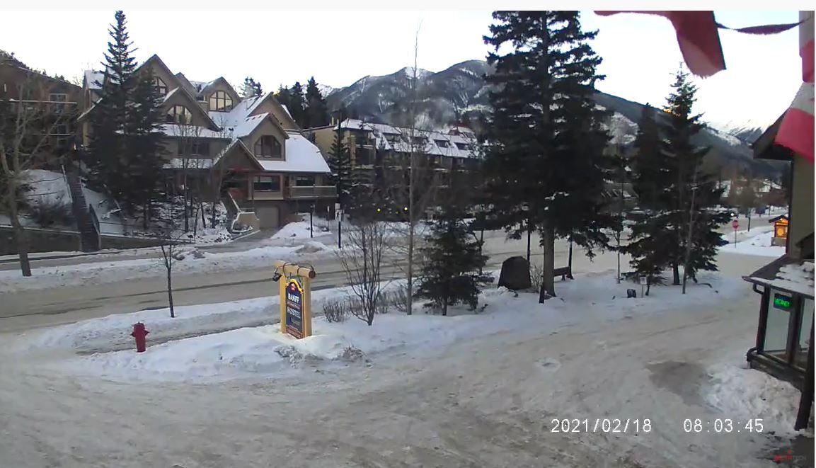 webcam Banff