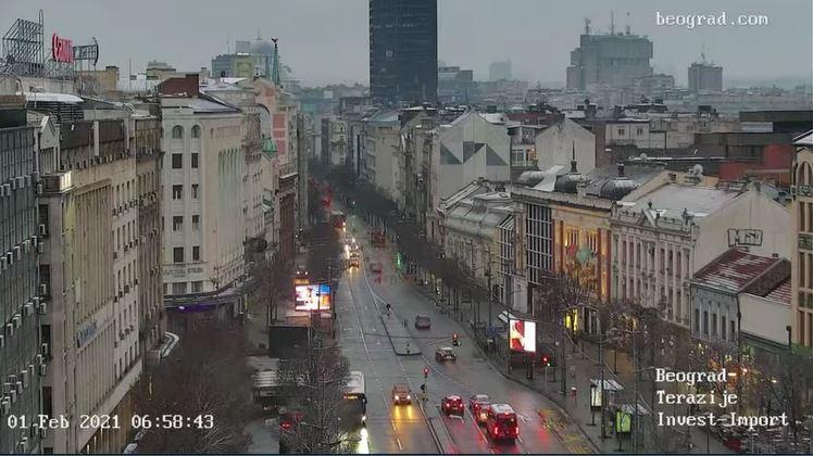 webcam Belgrade