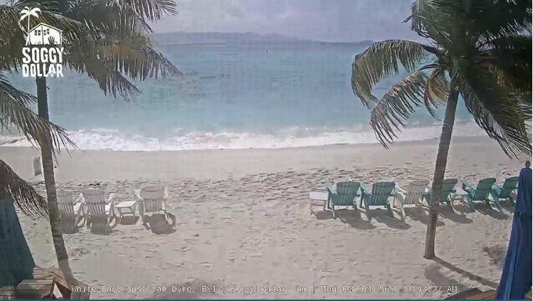 webcam Jost Van Dyke - Soggy Dollar Bar