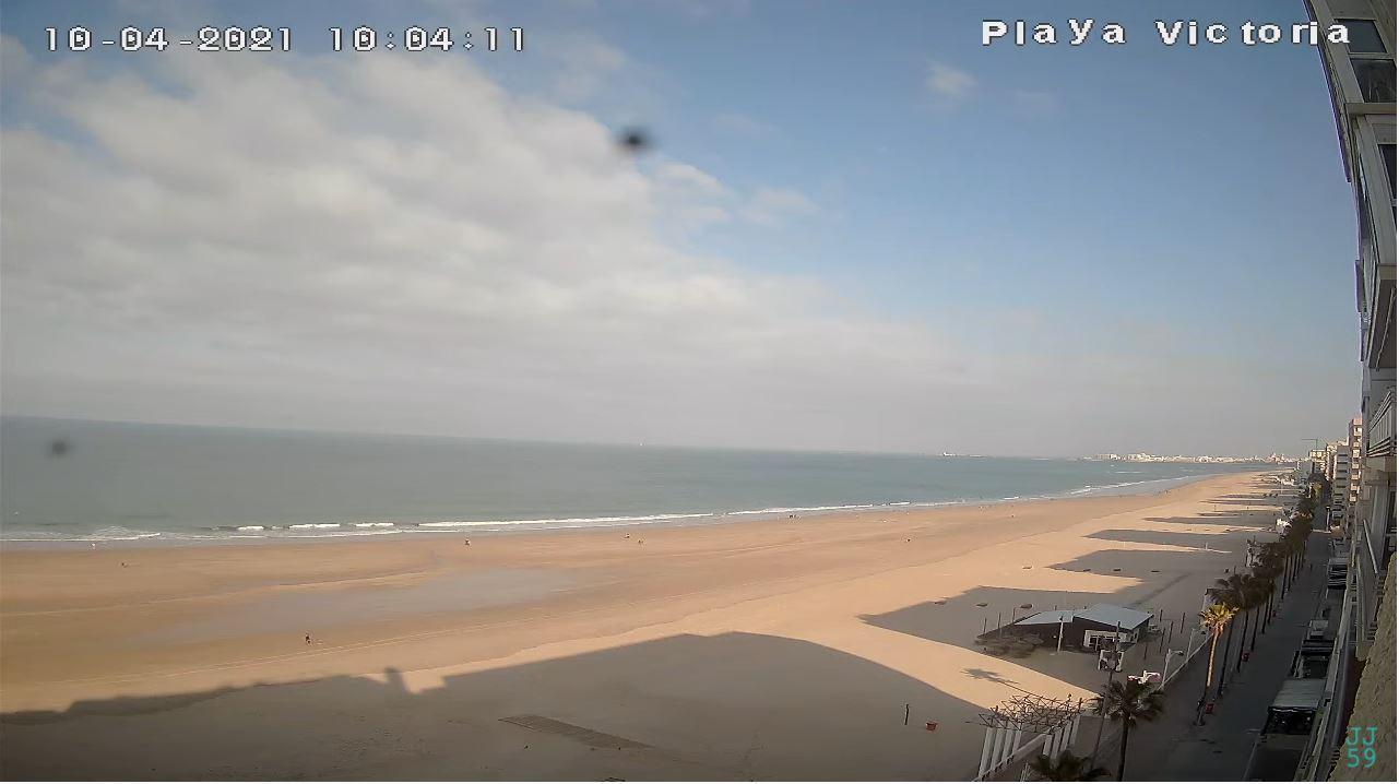 webcam Cadiz - Playa Victoria