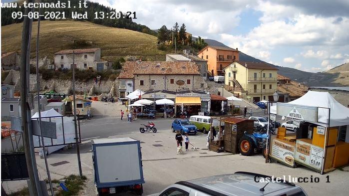 webcam Castellucio di Norcia