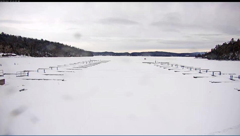 webcam Champlain Marina