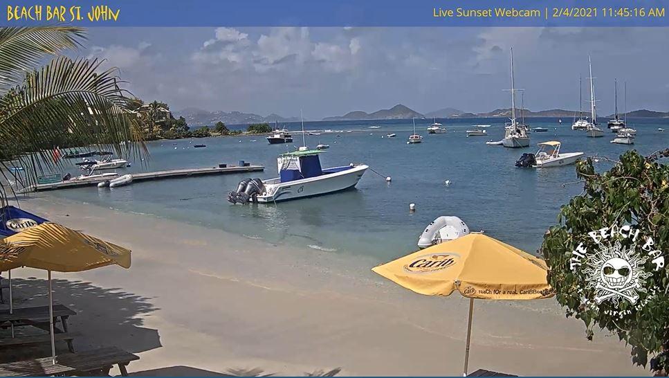 webcam Cruz Bay