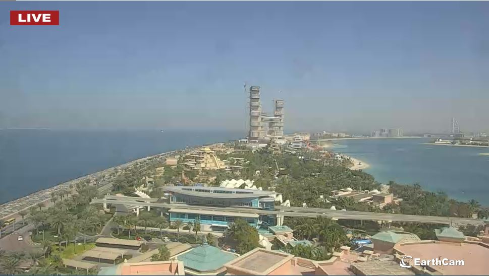 webcam Dubaï