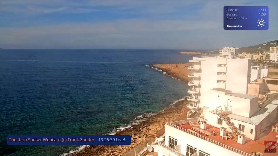 webcam Eivissa