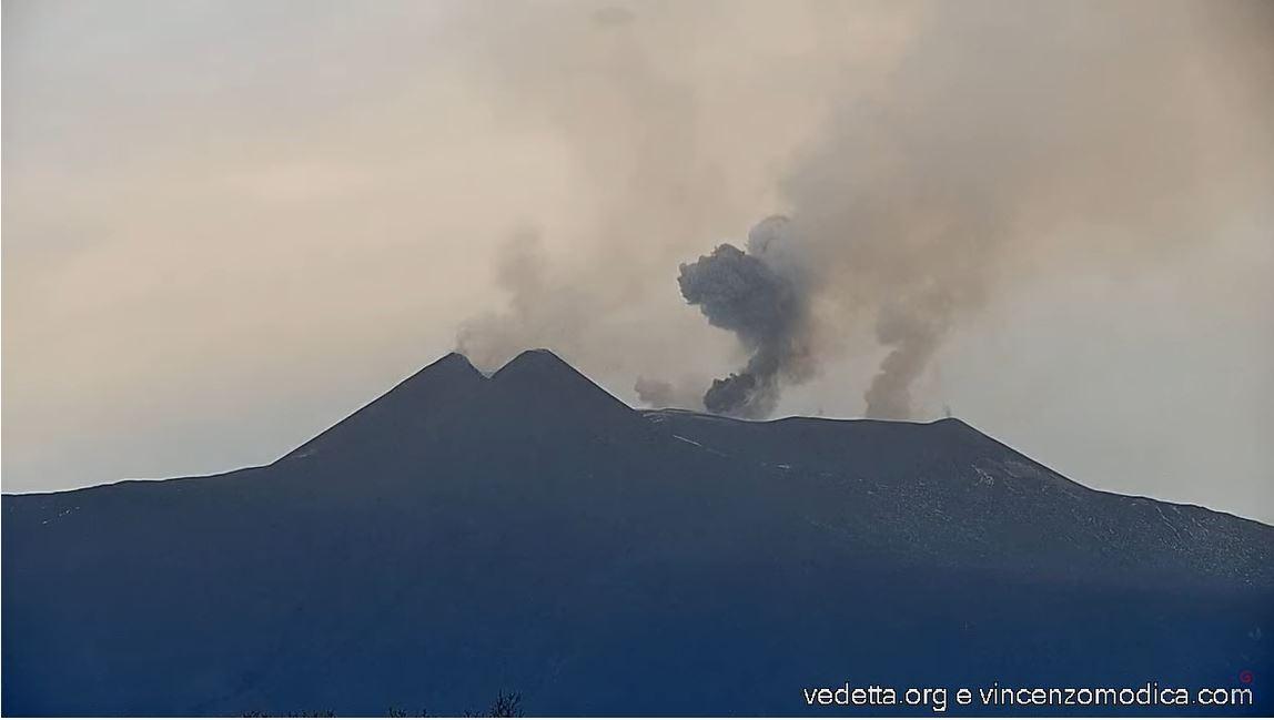webcam Etna