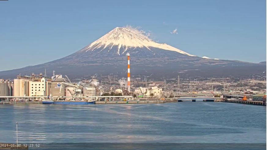 webcam Fuji