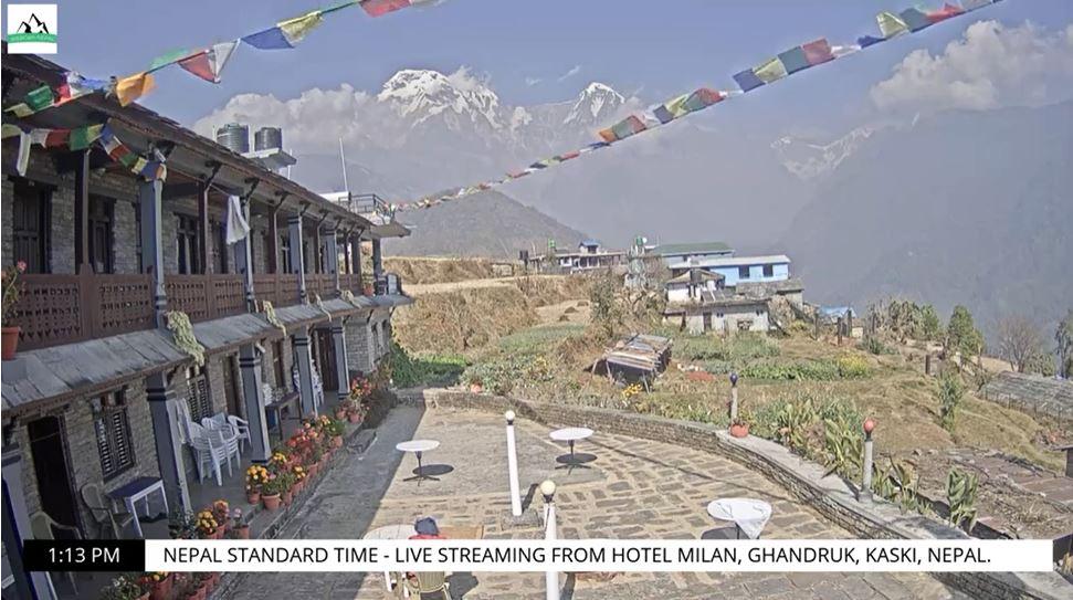 webcam Ghandruk