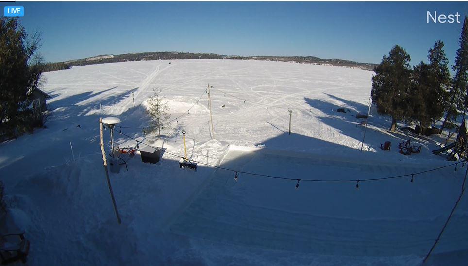 webcam Gunflink Lake