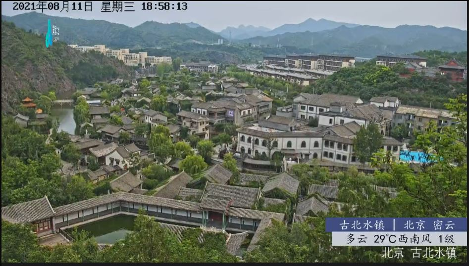 webcam Gubei Water Town