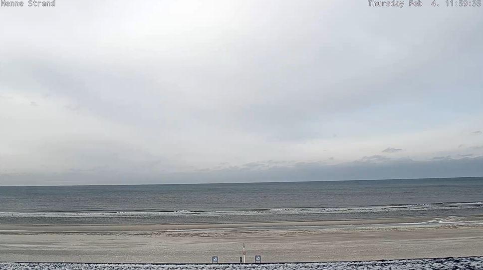 webcam Henne Strand
