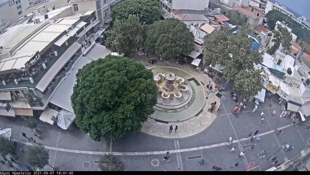 webcam Héraklion