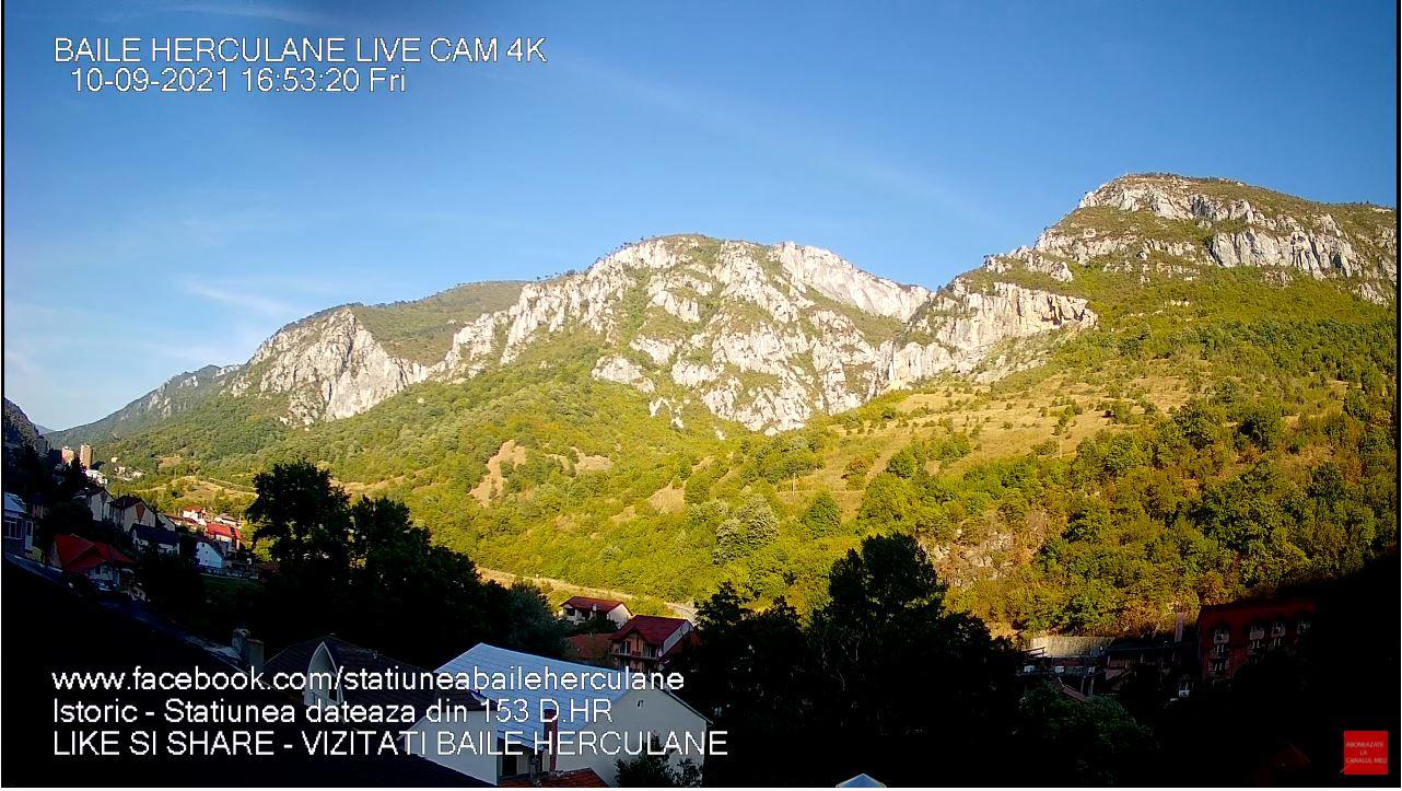 webcam Baile Herculane