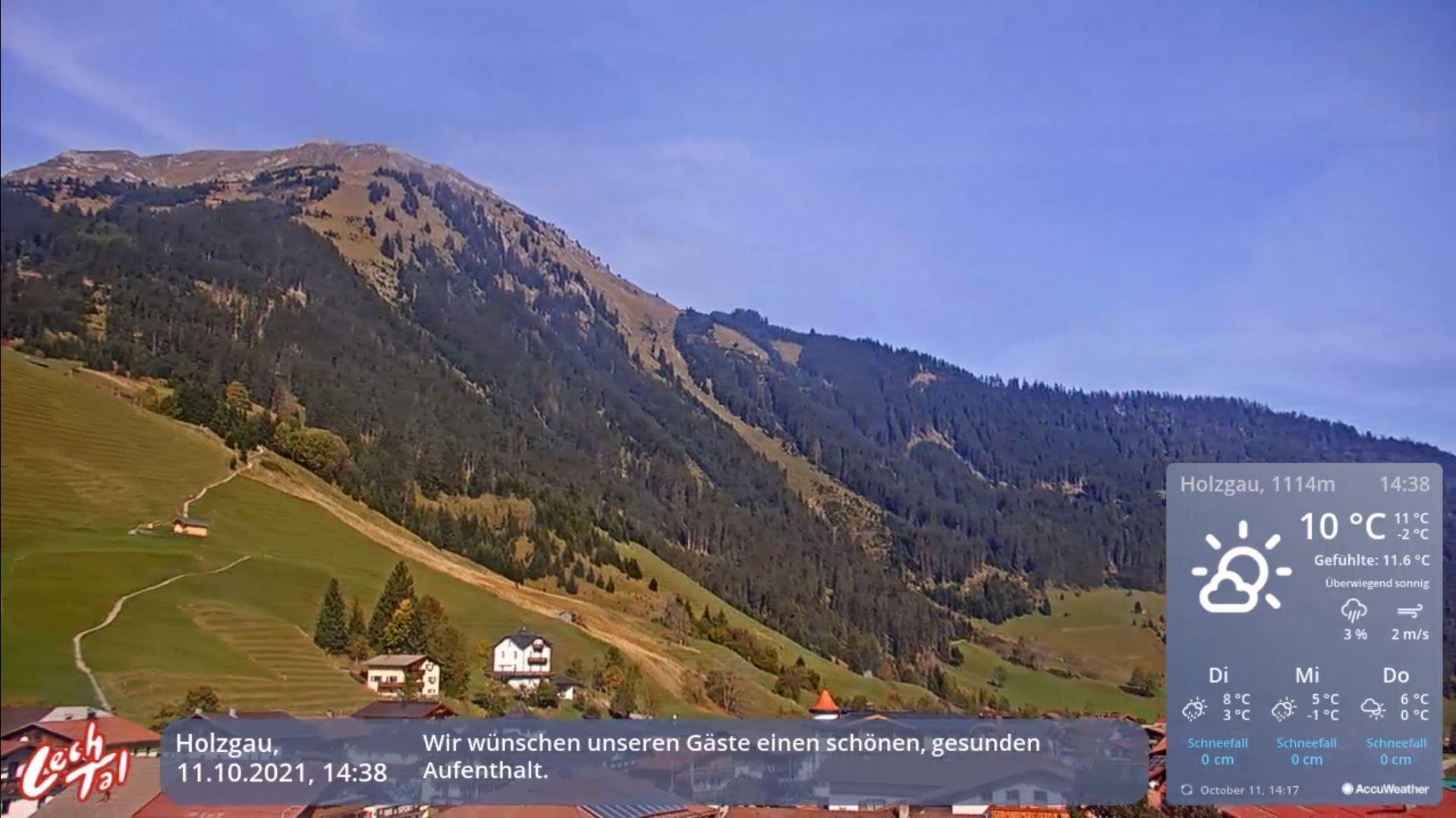 webcam Holzgau