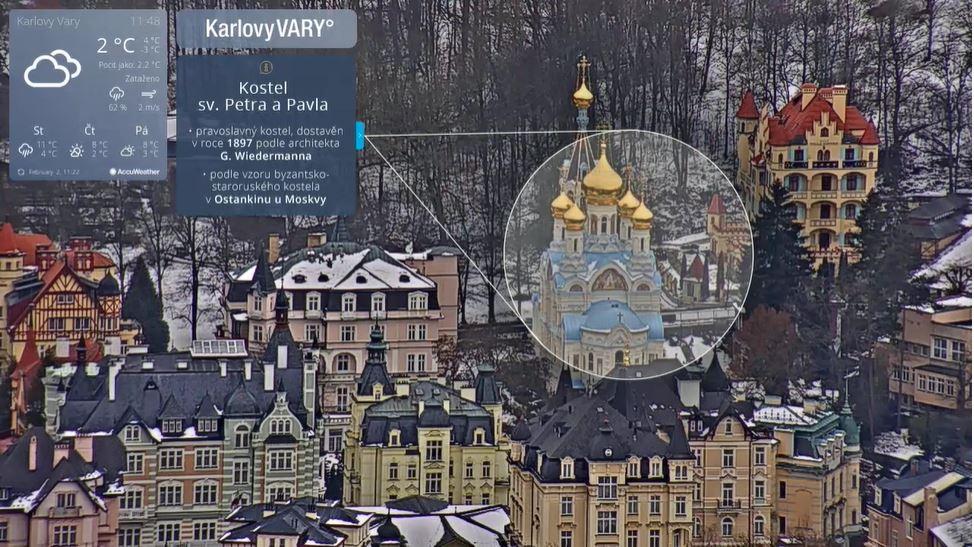 webcam Karlovy Vary