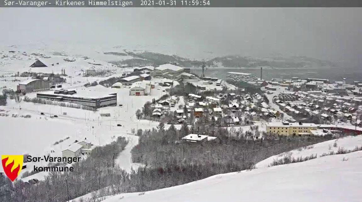webcam Kirkenes - Himmelstigen