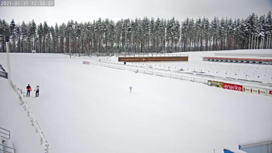 webcam Kontiolahti - Biathlon Park