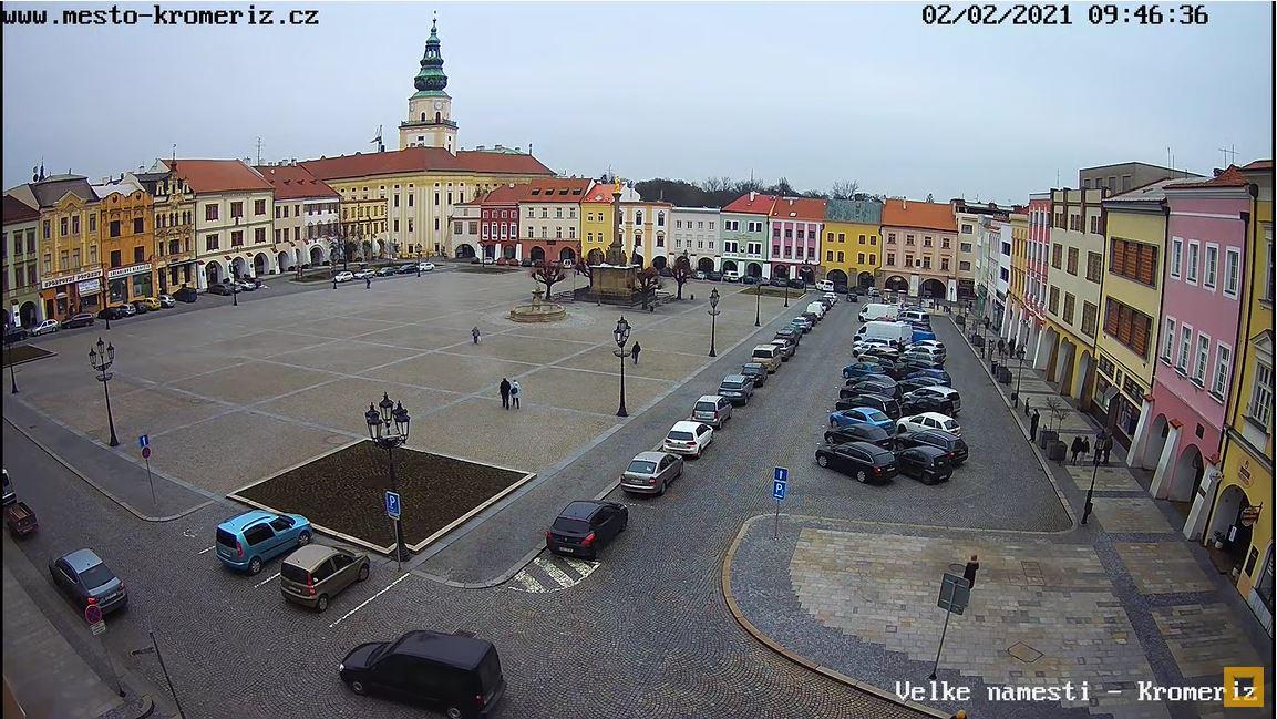 webcam Kromeriz