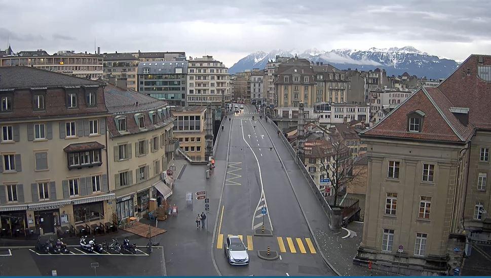 webcam Lausanne, Pont bessières