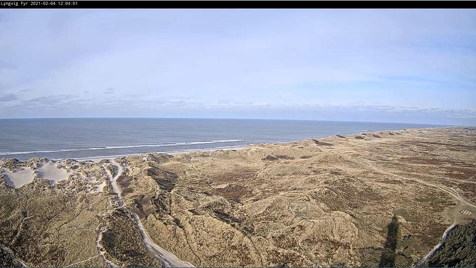webcam Hvide sand