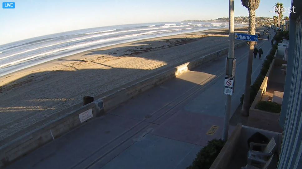 webcam Mission Beach