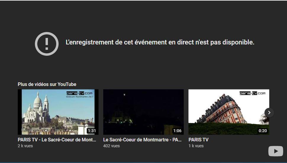 webcam Paris - MontMartre