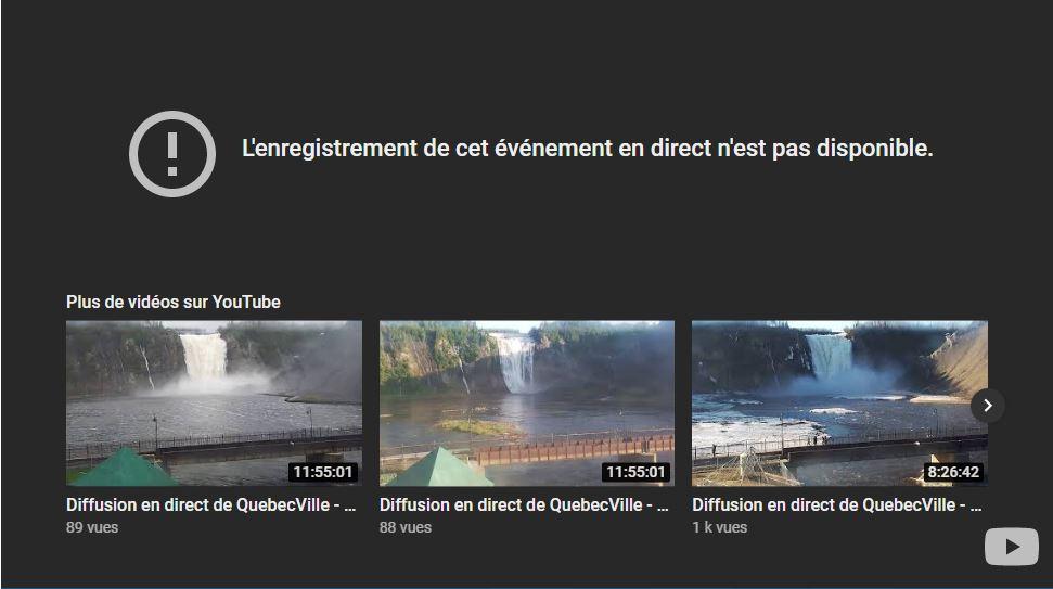 webcam Québec - Montmorancy