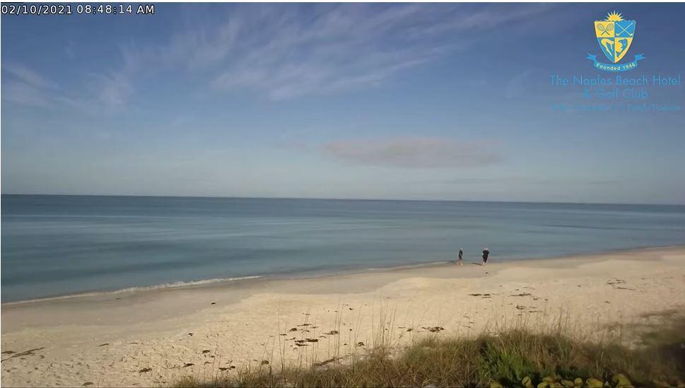 webcam Naples Beach