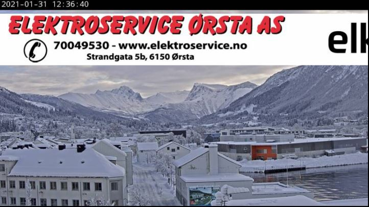 webcam Orsta