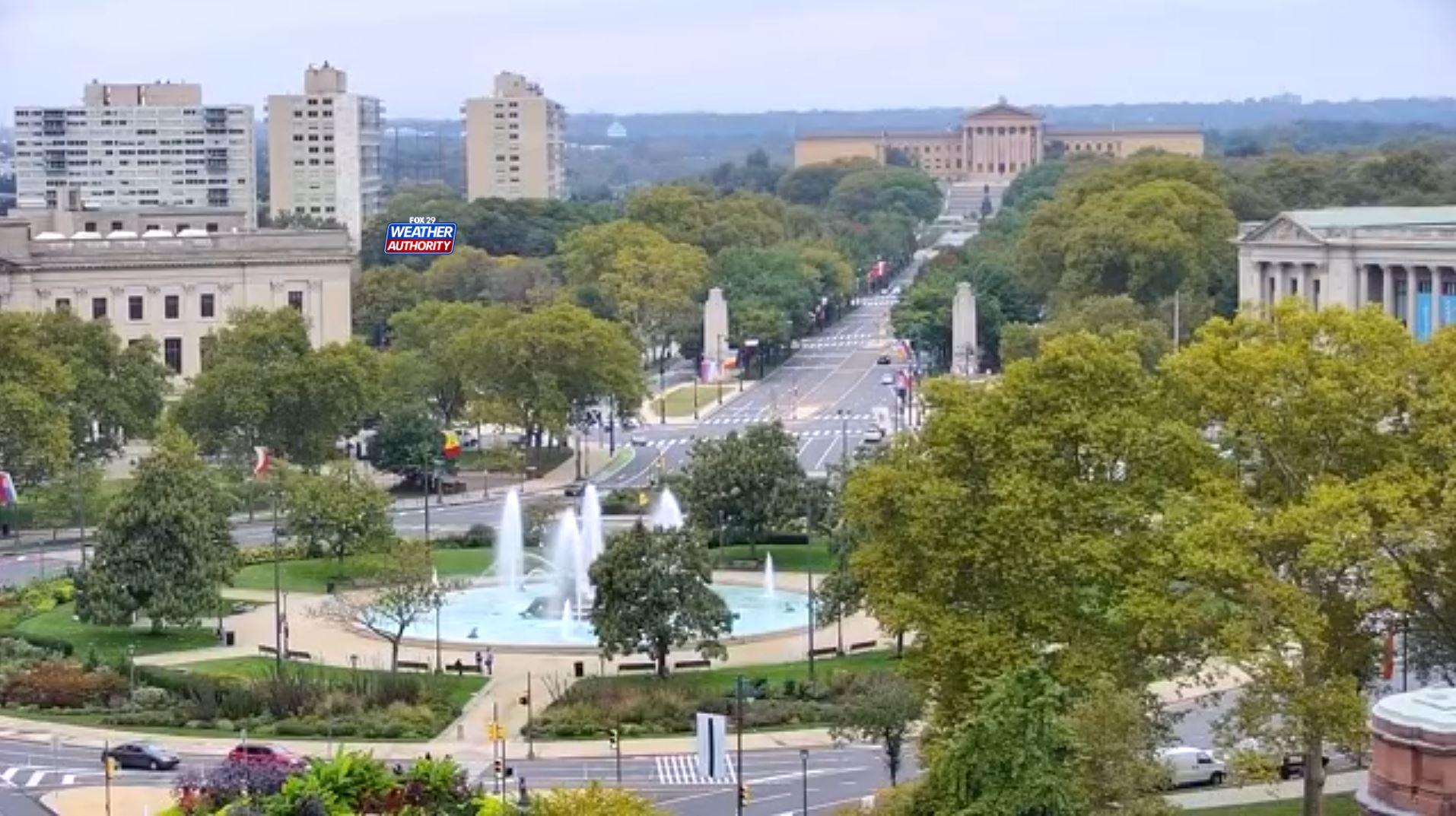 webcam Philadelphie