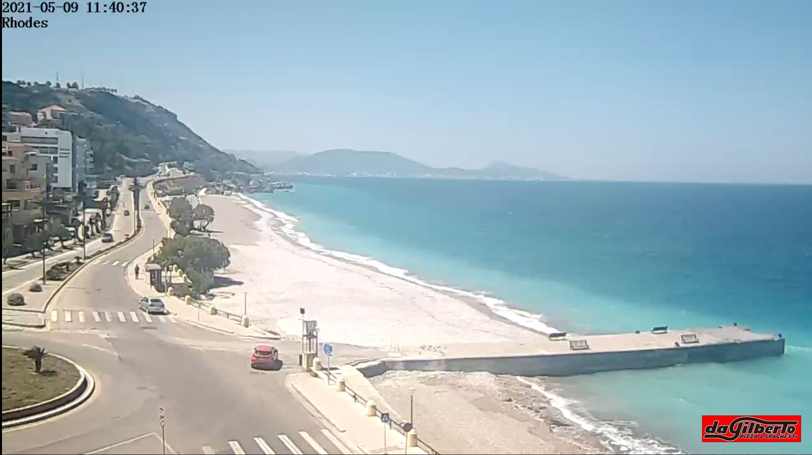 webcam Rhodes