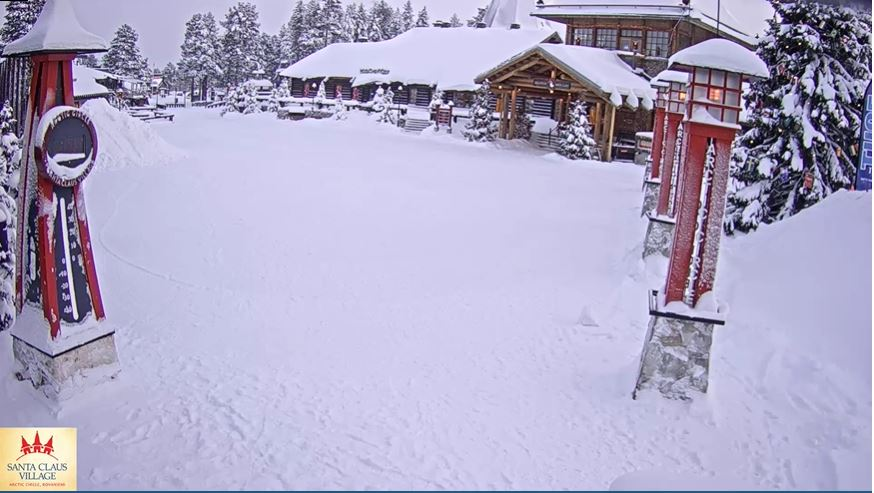 webcam Rovaniemi- Santa Clauss Village