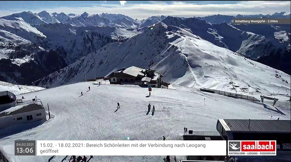 webcam Saalbach-Hinterglemm