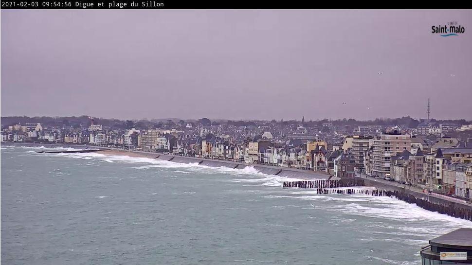 webcam Saint-Malo - Les Forts