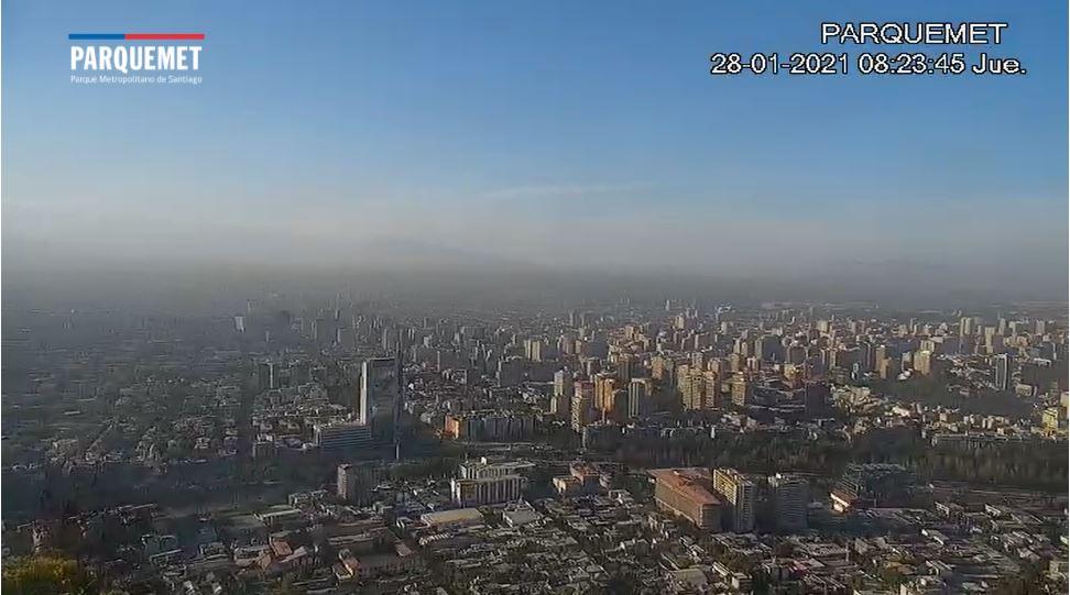webcam Santiago de Chili