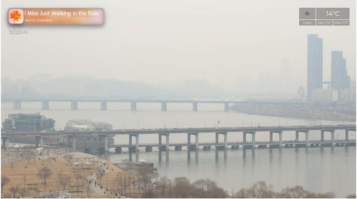 webcam Séoul