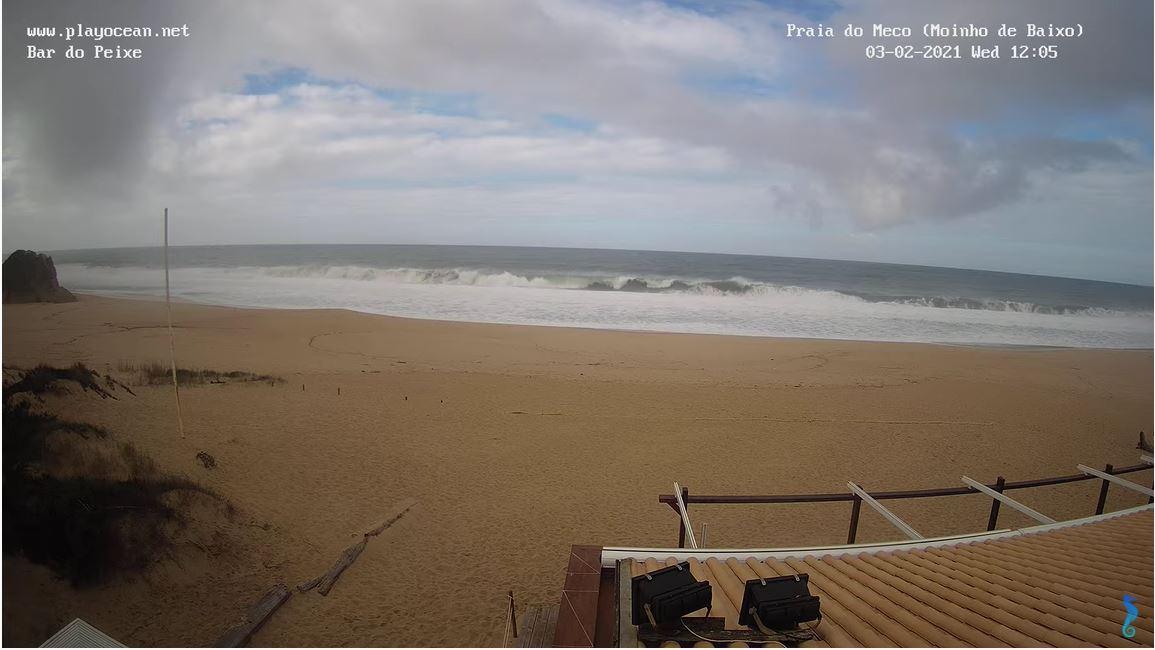 webcam Sesimbra - Praia do Meco