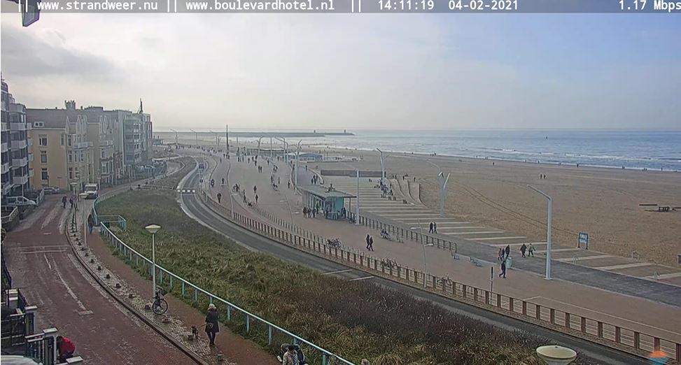webcam Sheveningen