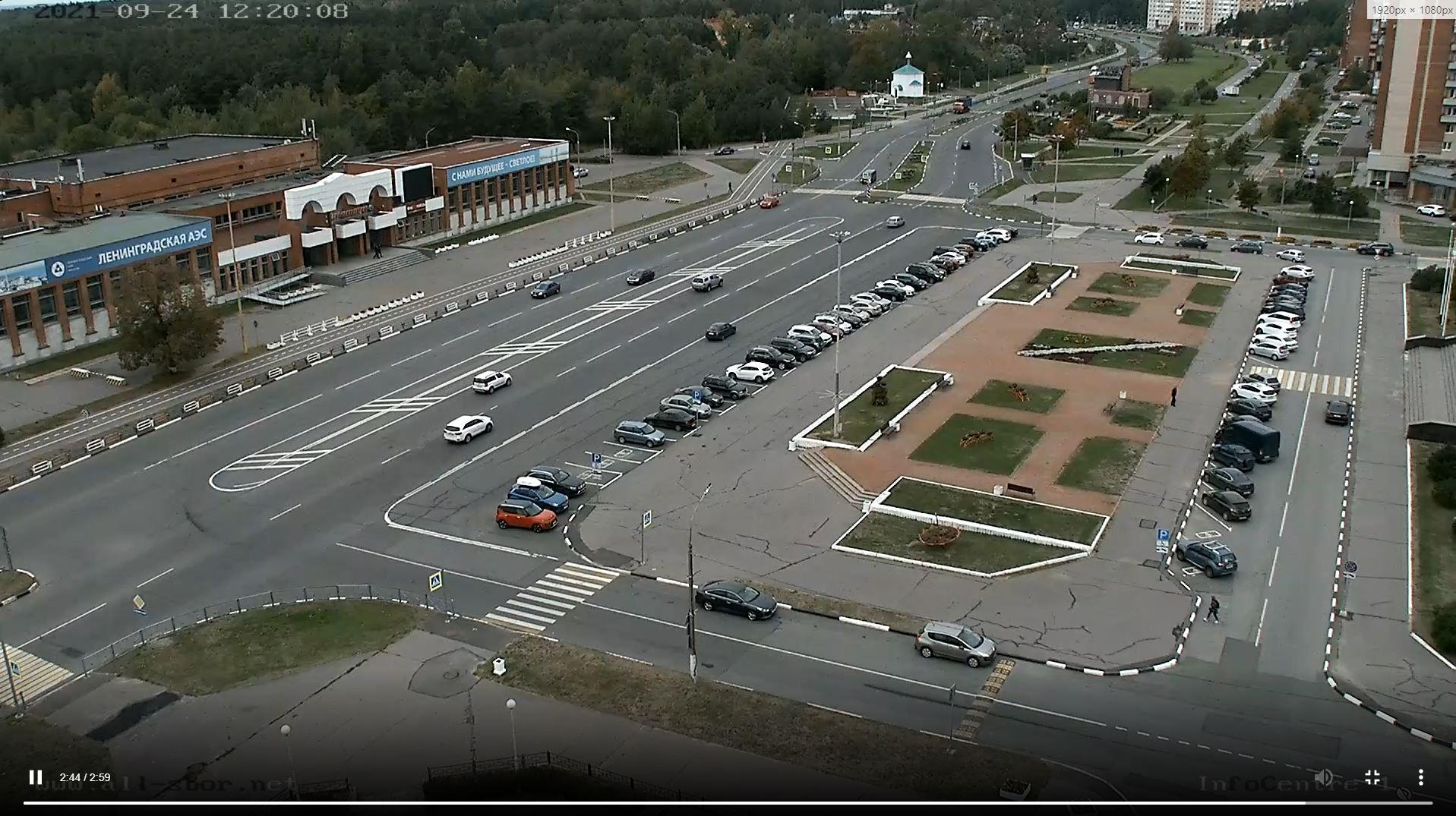 webcam Sosnovy Bor