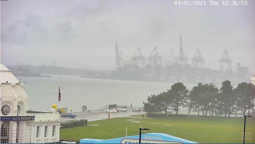 webcam Southampton