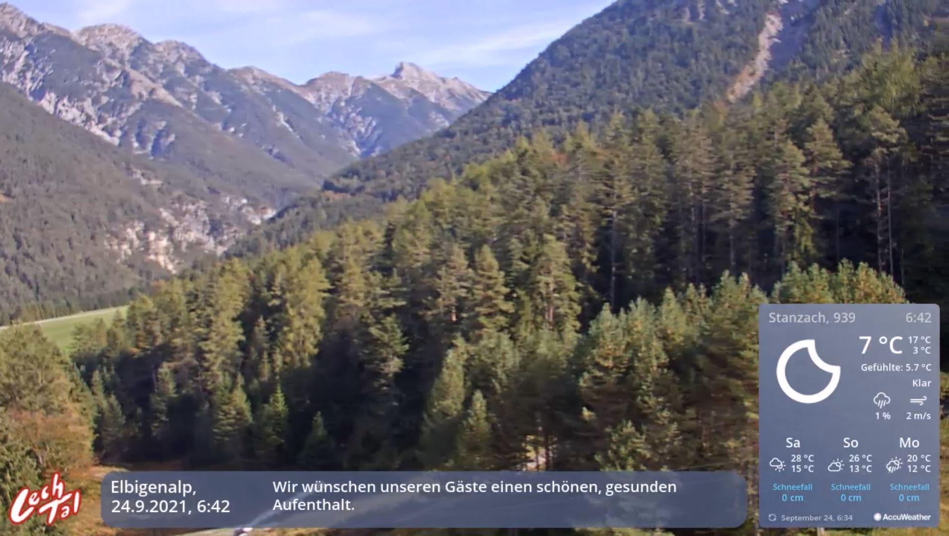 webcam Stanzach