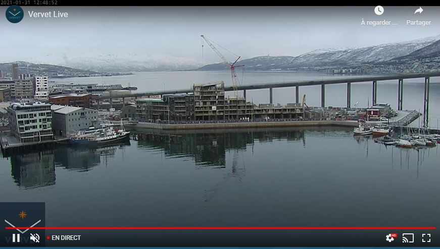 webcam Tromso