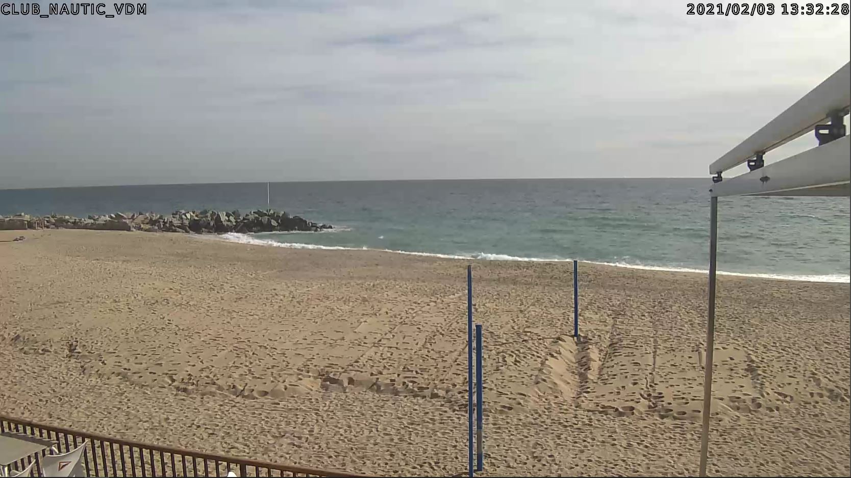 webcam Vilassar de Mar