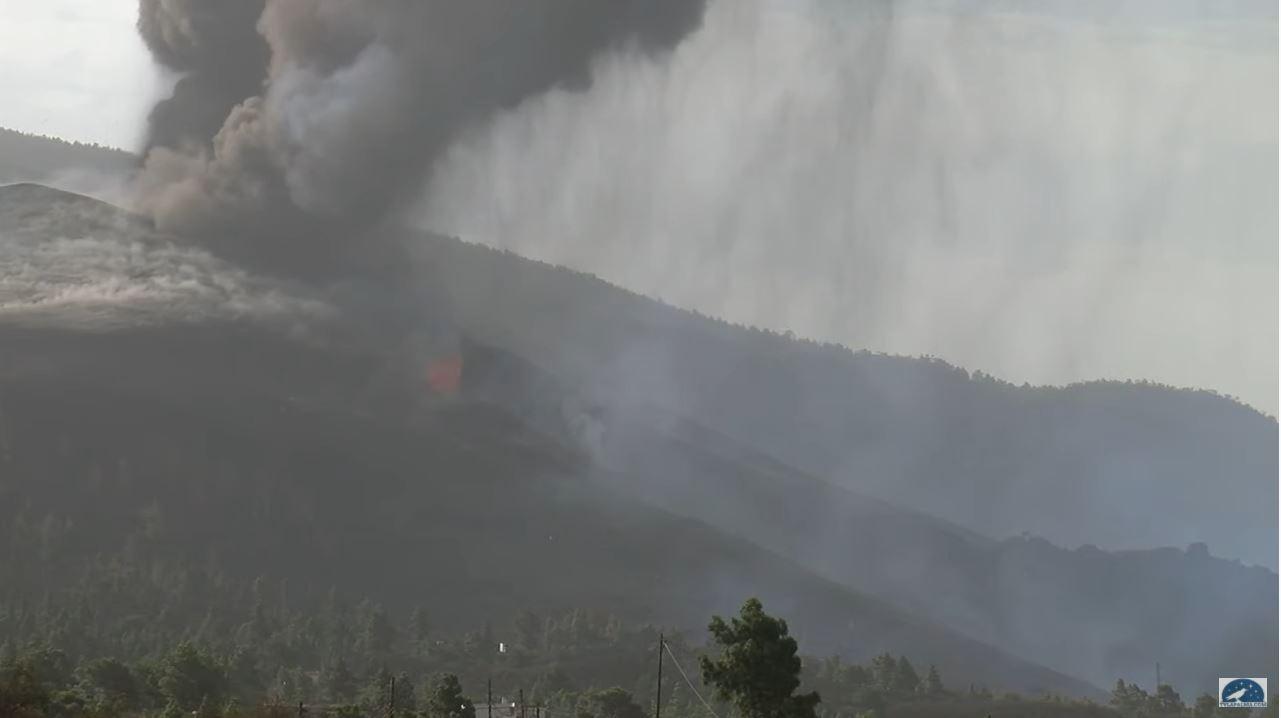 webcam Volcan Cumbre Vieja