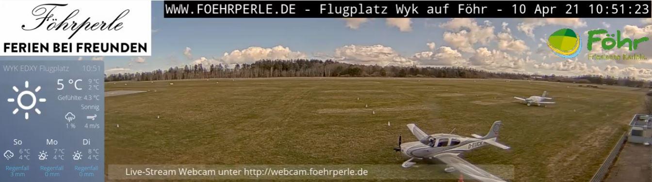 webcam Wyk auf Fohr