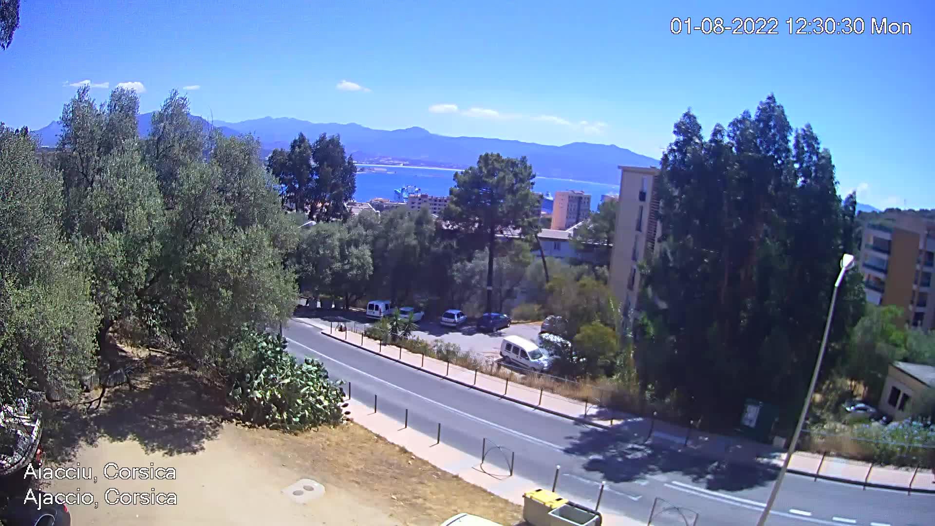 webcam Ajaccio