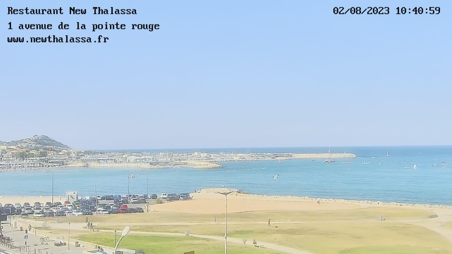 webcam Marseille - New Thalassa